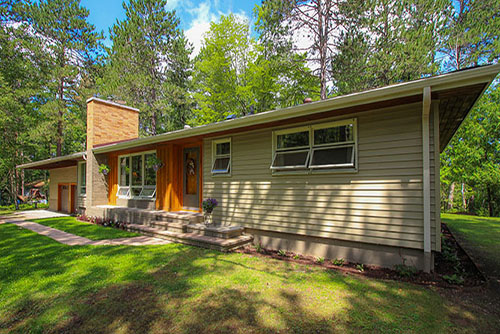 Gorgeous Country Home on Majestic Pine Lot
