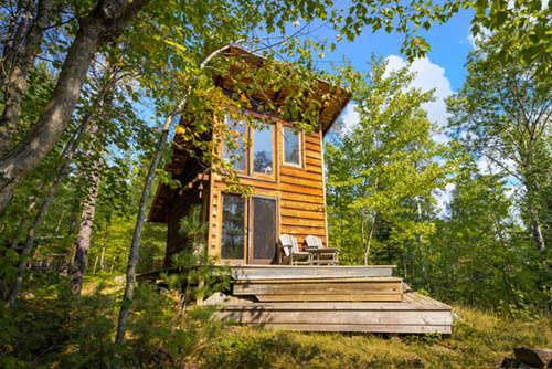 High Lake Acreage With Cabin