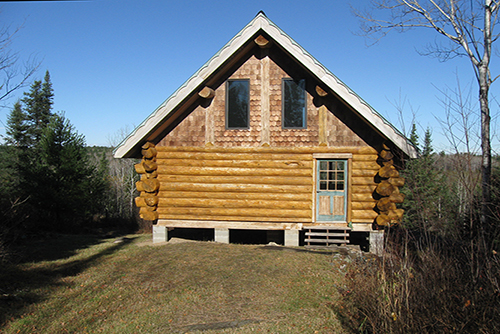 Log Cabin on 40 Acres